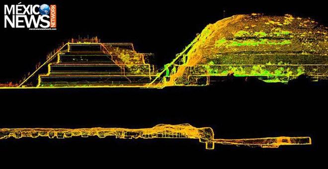 Phát hiện dòng sông thủy ngân ẩn mình dưới đáy kim tự tháp cổ - Ảnh 1.