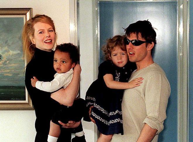 Trái ngược Suri Cruise, 2 đứa con khác của Tom Cruise có số phận đáng thương - Ảnh 1.