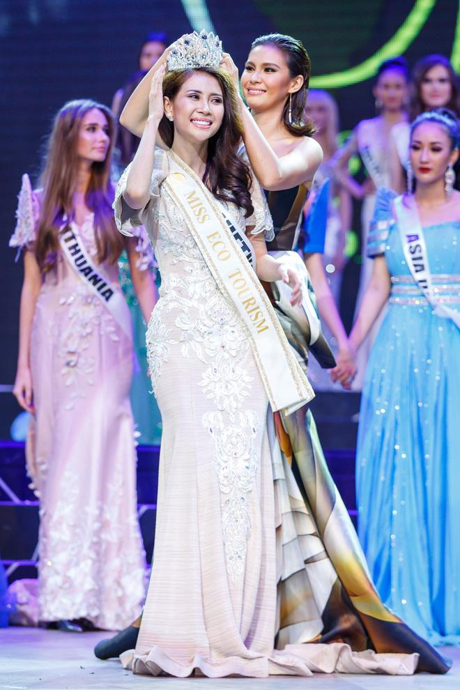 Á khôi Liên Phương đăng quang Miss Eco Tourism 2017 - Ảnh 1.