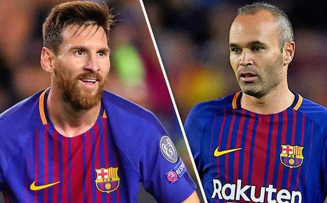 Barca đưa ra quyết định cuối về tương lai của Messi và Iniesta