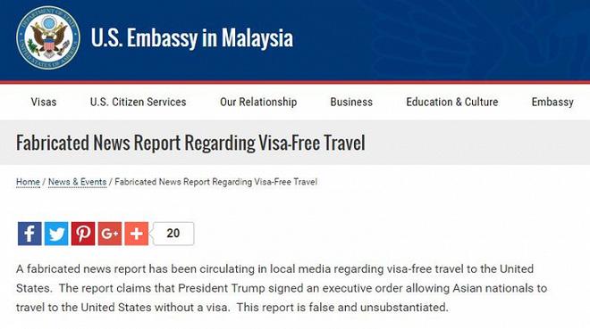 Đại sứ quán Mỹ cảnh báo thông tin giả mạo về miễn visa cho công dân Việt Nam - Ảnh 3.