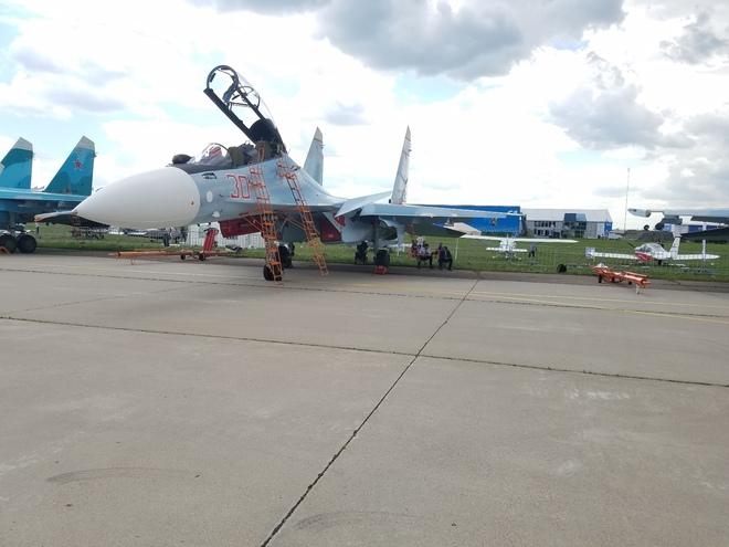 Từ Nga: Cận cảnh dàn vũ khí hùng hậu tại triển lãm MAKS 2017 - Ảnh 8.