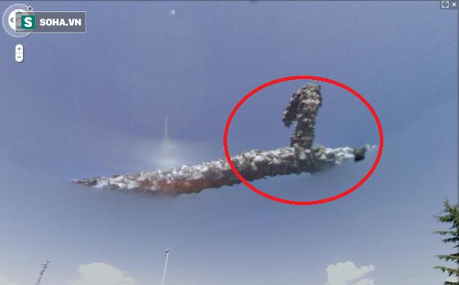 Những cảnh tượng bí ẩn vô tình lọt vào tầm ngắm của Google Earth
