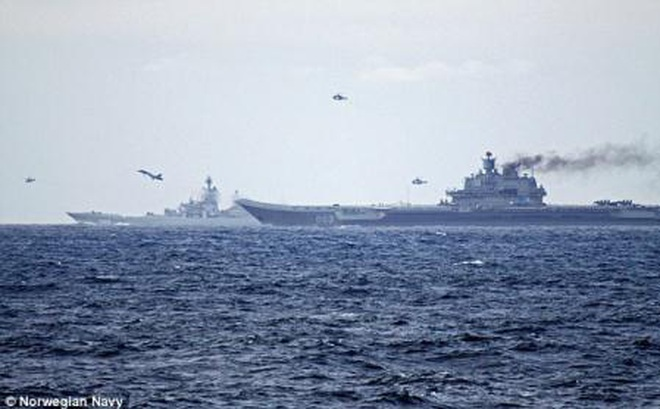 Nga chữa thẹn khi vội vã đưa tàu sân bay Kuznetsov về nước?