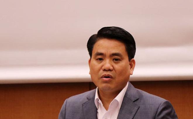 Chủ tịch Nguyễn Đức Chung về huyện Mỹ Đức làm việc