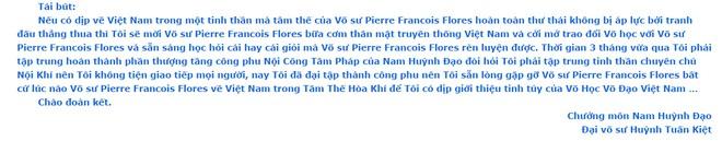 """Chưởng môn Nam Huỳnh Đạo luyện thành """"tuyệt kỹ"""", sẵn sàng gặp cao thủ Vịnh Xuân - Ảnh 1."""