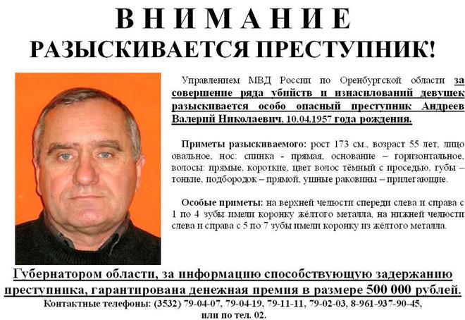 8 phụ nữ trẻ bị hiếp dâm, giết hại và cuộc truy tìm tên sát nhân người Nga 1