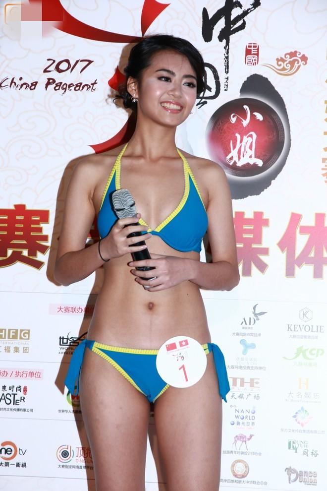 Nhan sắc thảm họa của các thí sinh lọt chung kết Hoa hậu Trung Quốc - Ảnh 8.