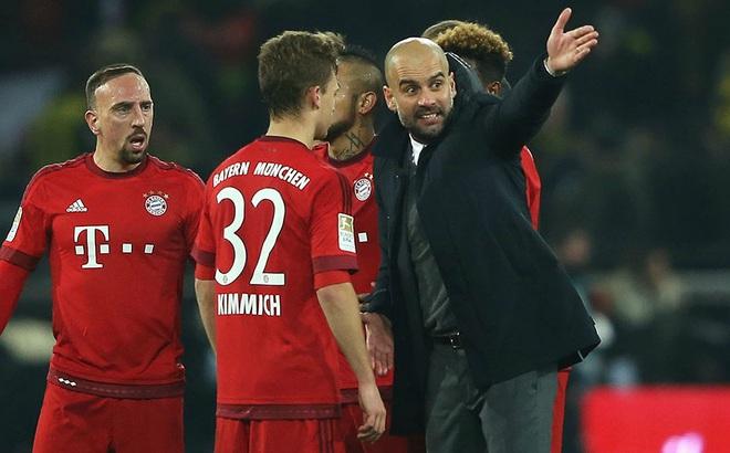 Bayern bị loại đau: Pep đã