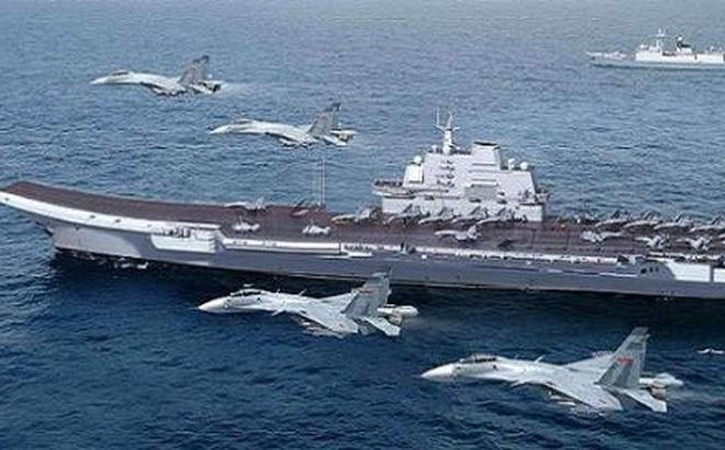 Biên đội tàu sân bay Nga - Trung: Kém xa Đệ nhất Mỹ