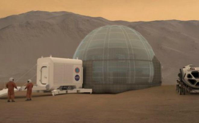 NASA công bố mô hình nhà ở cho phi hành gia trên Sao Hỏa