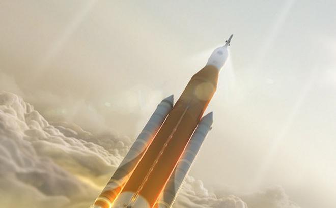 Con người có thể lên không gian bằng tên lửa mạnh mẽ nhất lịch sử