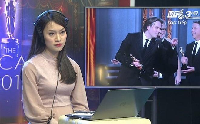 Tranh luận về nữ sinh phiên dịch Oscar trên sóng trực tiếp