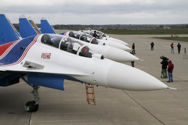 Phi đội tiêm kích Su-30SM sắp đến Việt Nam, sẽ hạ cánh tại sân bay quốc tế Nội Bài - Ảnh 2.