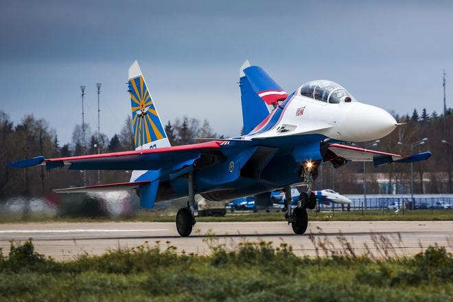 CẬP NHẬT: Ngay lúc này Nội Bài đã đủ điều kiện để Phi đội tiêm kích Su-30SM hạ cánh - Ảnh 1.