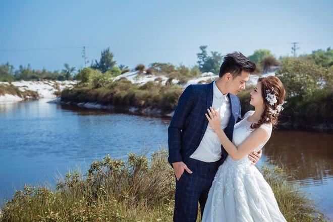 'Hot girl dân tộc' hạnh phúc bên chồng trong bộ ảnh cưới - ảnh 1