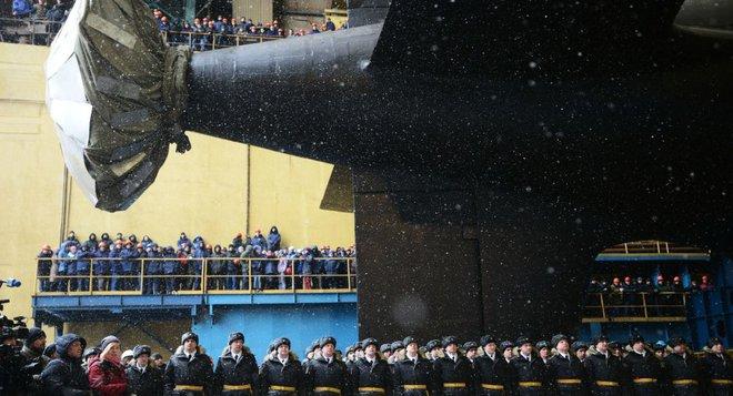 [ẢNH] Nga hạ thủy tàu ngầm hạt nhân thứ 2 lớp Yasen 4