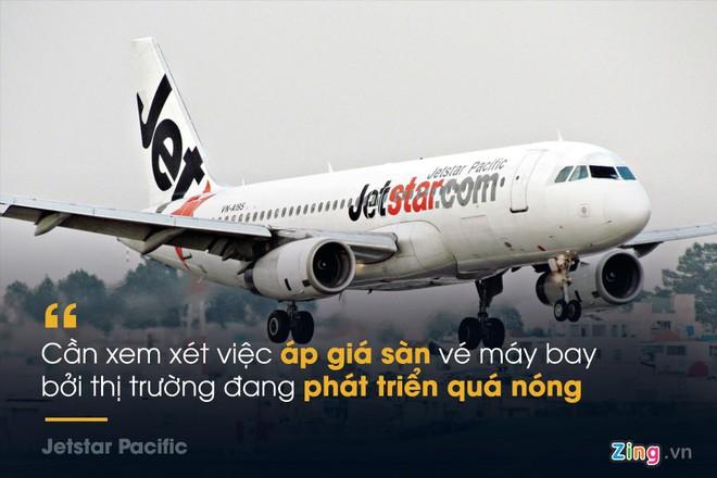 Những phát ngôn đáng chú ý xung quanh đề xuất áp sàn giá vé máy bay - Ảnh 1.