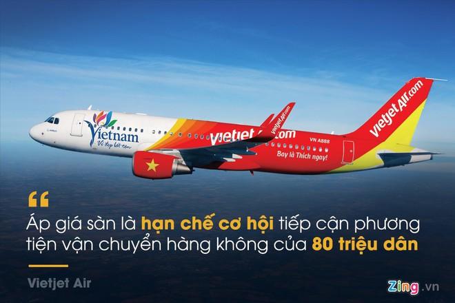 Những phát ngôn đáng chú ý xung quanh đề xuất áp sàn giá vé máy bay - Ảnh 2.