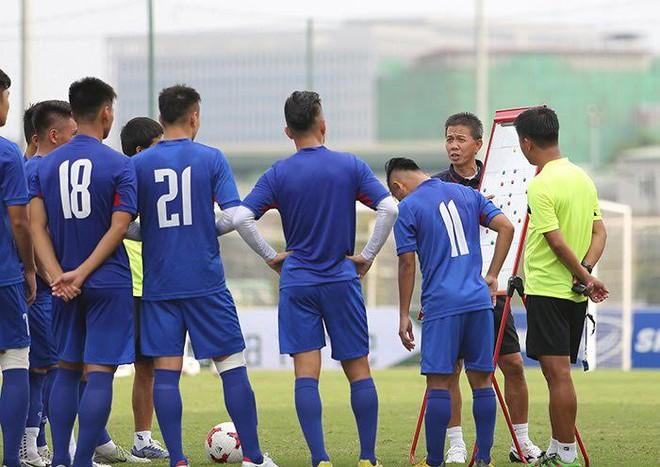 U20 Việt Nam bị ông Hải lơ trù ẻo, HLV Hoàng Anh Tuấn nói gì? - Ảnh 1.
