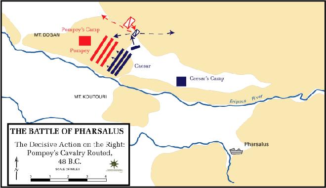 Trận đánh quan trọng nhất, thay đổi cả cuộc đời của Julius Caesar - Ảnh 4.