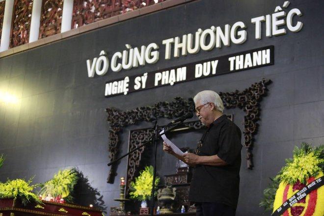 Gia đình, đồng nghiệp nghẹn ngào ở đám tang NSƯT Duy Thanh - Ảnh 10.