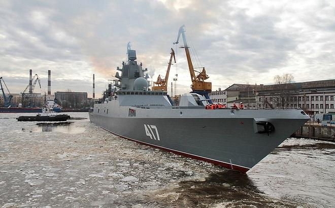 Tư lệnh Hải quân bật mí số tàu chiến Nga sẽ nhận trong năm 2017