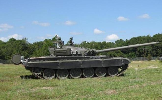 Mỹ chuyển đổi xe tăng T-72 thành mục tiêu tập bắn