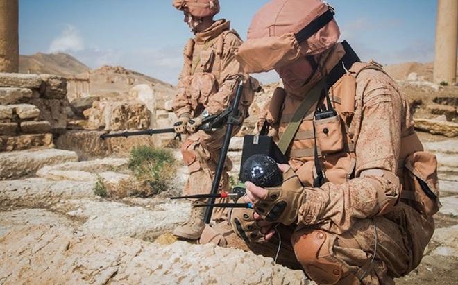 Xem công binh Nga dùng công nghệ cao tại Syria