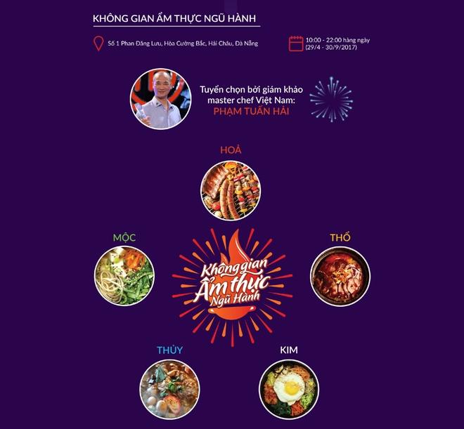 Đà Nẵng: Sắp mở cửa không gian ẩm thực Ngũ hành - Ảnh 2.