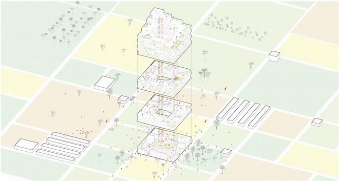 Bí mật tòa nhà chọc trời, có khả năng di chuyển và cứu đói hàng trăm người 3