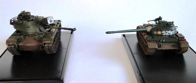 Đừng cười châu chấu đá xe: Tăng T-54 Việt Nam đối đầu M48 Mỹ - Mèo nào cắn mỉu nào? - Ảnh 2.