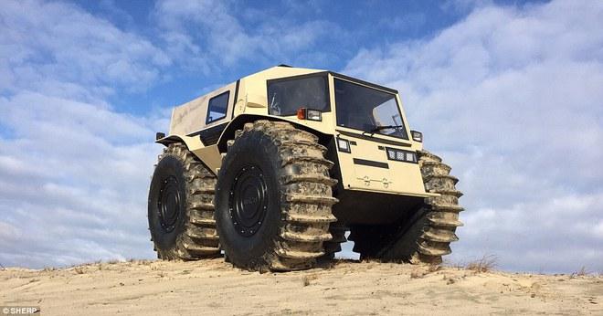 Sherp ATV - Quái vật tí hon có thể vượt mọi địa hình đến từ nước Nga - Ảnh 2.