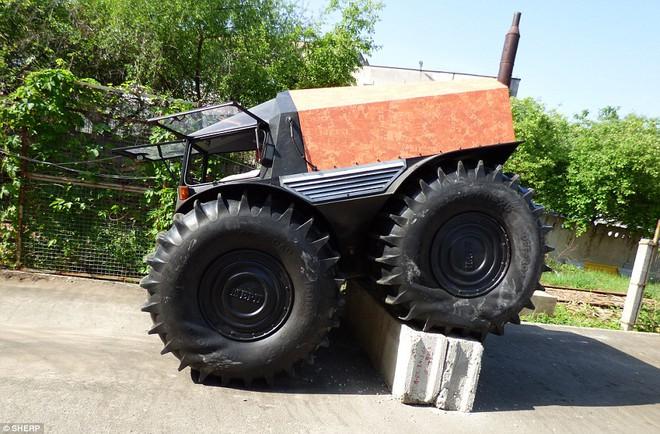 Sherp ATV - Quái vật tí hon có thể vượt mọi địa hình đến từ nước Nga - Ảnh 5.