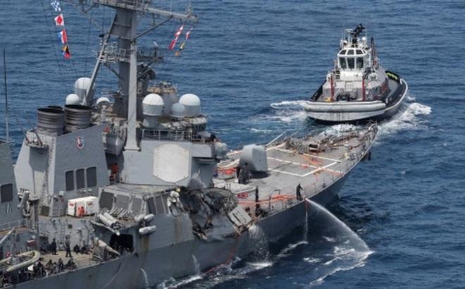 Vụ tàu khu trục USS Fitzgerald va tàu hàng: Hé lộ những chi tiết mới