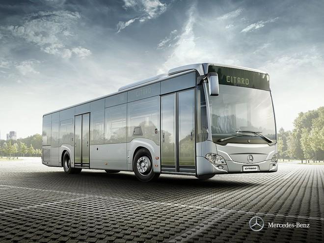 """Chiếc xe buýt tự lái """"bước ra từ phim viễn tưởng"""" của Mercedes - Ảnh 5."""