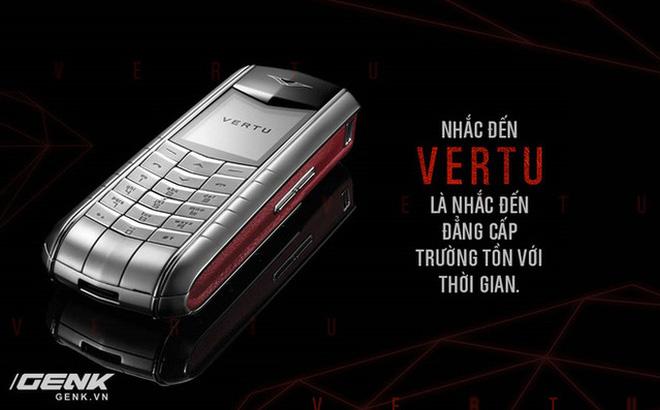 Chính iPhone là thủ phạm đẩy Vertu vào cái chết đau đớn như ngày nay