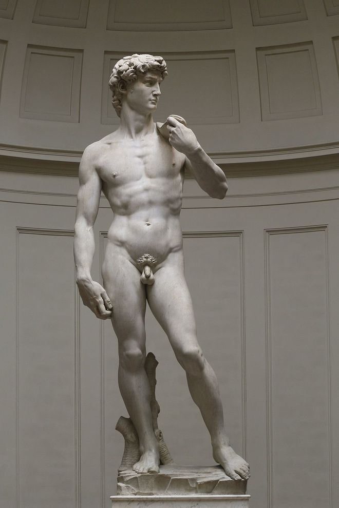 Điều không hoàn hảo ở bức tượng khỏa thân đẹp nhất thế giới - Ảnh 1.