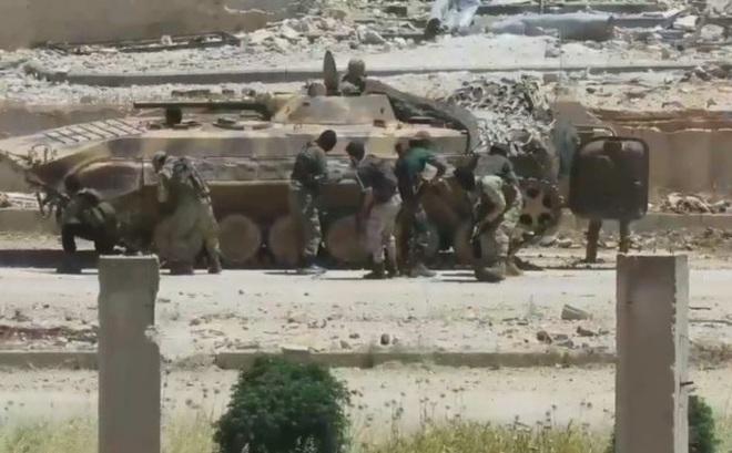 Quân đội Syria đối mặt phiến quân thiện chiến, cuồng tín