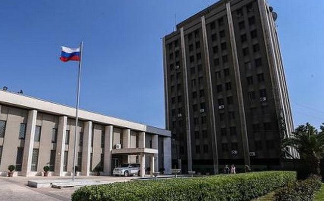 SANA: Đạn pháo nã trúng Đại sứ quán Nga tại Damascus