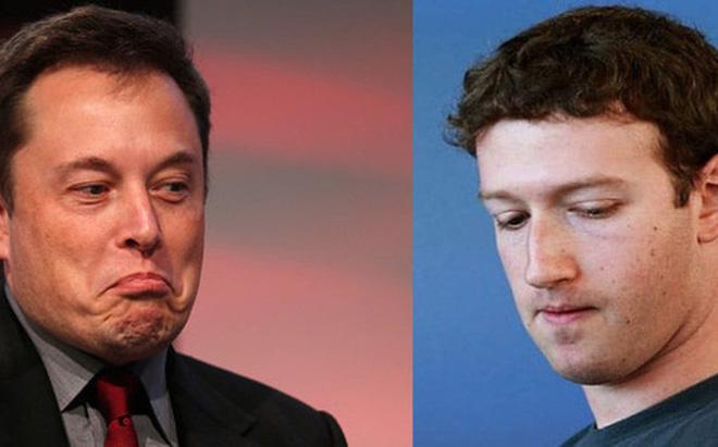 """Elon Musk bảo hiểu biết về trí tuệ nhân tạo của Mark Zuckerberg còn """"rất hạn chế"""""""