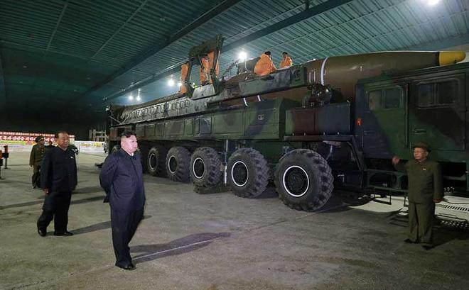 Nghi vấn tên lửa Triều Tiên có điểm chí tử