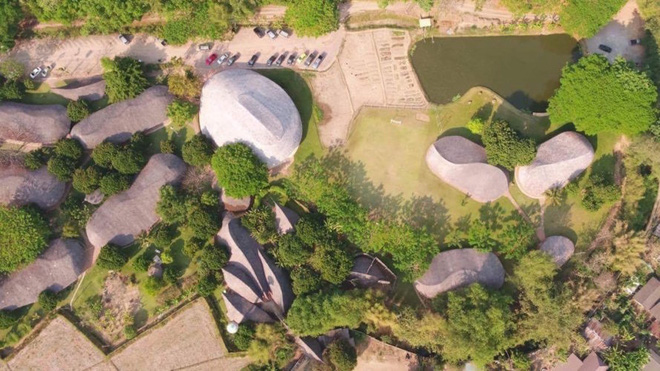 Giải mã ngôi nhà tre độc đáo hình nón lá, chống được động đất ở Thái Lan - Ảnh 9.