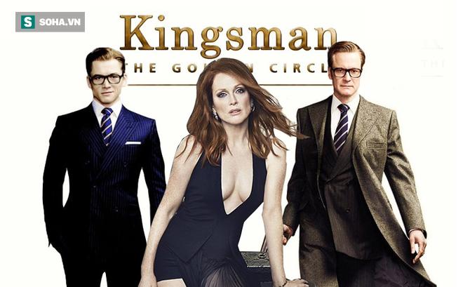Kết quả hình ảnh cho Tải phim Xem phim Mật Vụ Kingsman 2: Tổ Chức Hoàng Kim