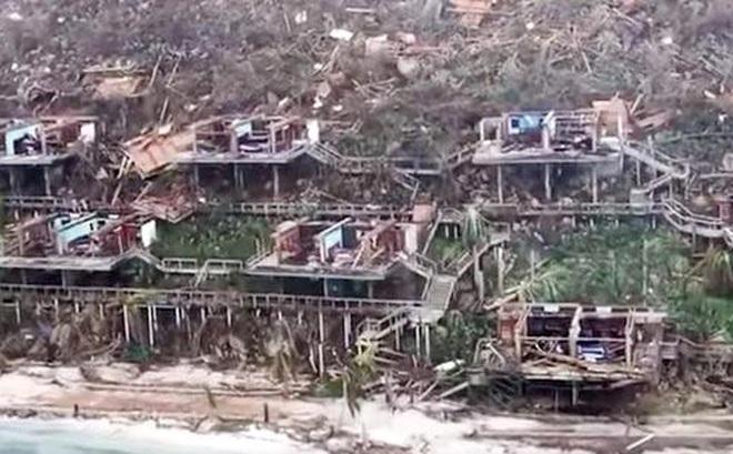 """Siêu bão Irma tàn phá kinh hoàng: """"Bộ mặt"""" quần đảo Virgin biến dạng hoàn toàn"""