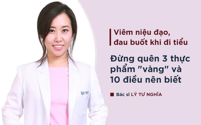 Bác sĩ Đông y hướng dẫn giải pháp phòng chữa bệnh viêm niệu đạo, đau buốt khi đi tiểu