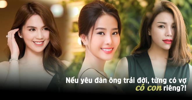 3 mỹ nhân Việt phát ngôn sẵn sàng yêu đàn ông lớn tuổi, từng có vợ, có con riêng  - Ảnh 1.