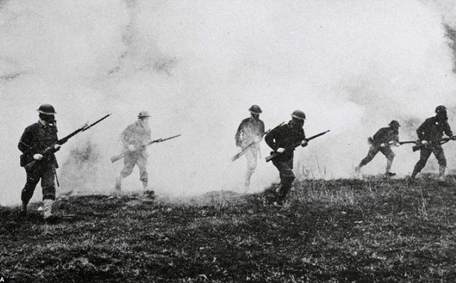 Vụ biến mất vào mây đầy bí ẩn của 800 lính Anh trong Thế chiến I