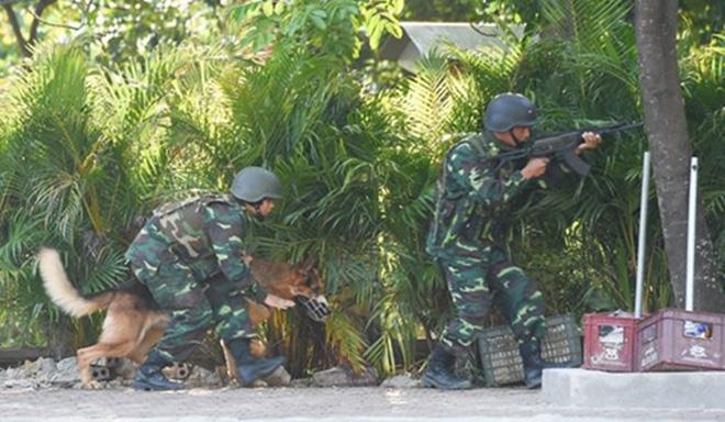 Quân đội Việt Nam và Trung Quốc phối hợp tổ chức diễn tập liên hợp chống khủng bố - Ảnh 5.