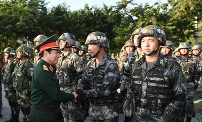 Quân đội Việt Nam và Trung Quốc phối hợp tổ chức diễn tập liên hợp chống khủng bố - Ảnh 11.